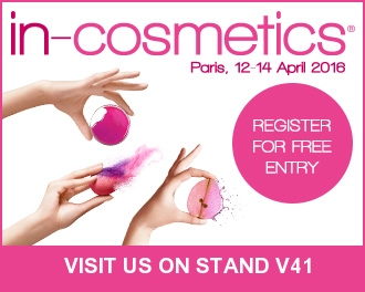 in-cosmetics Paris, 12-14 April 2016