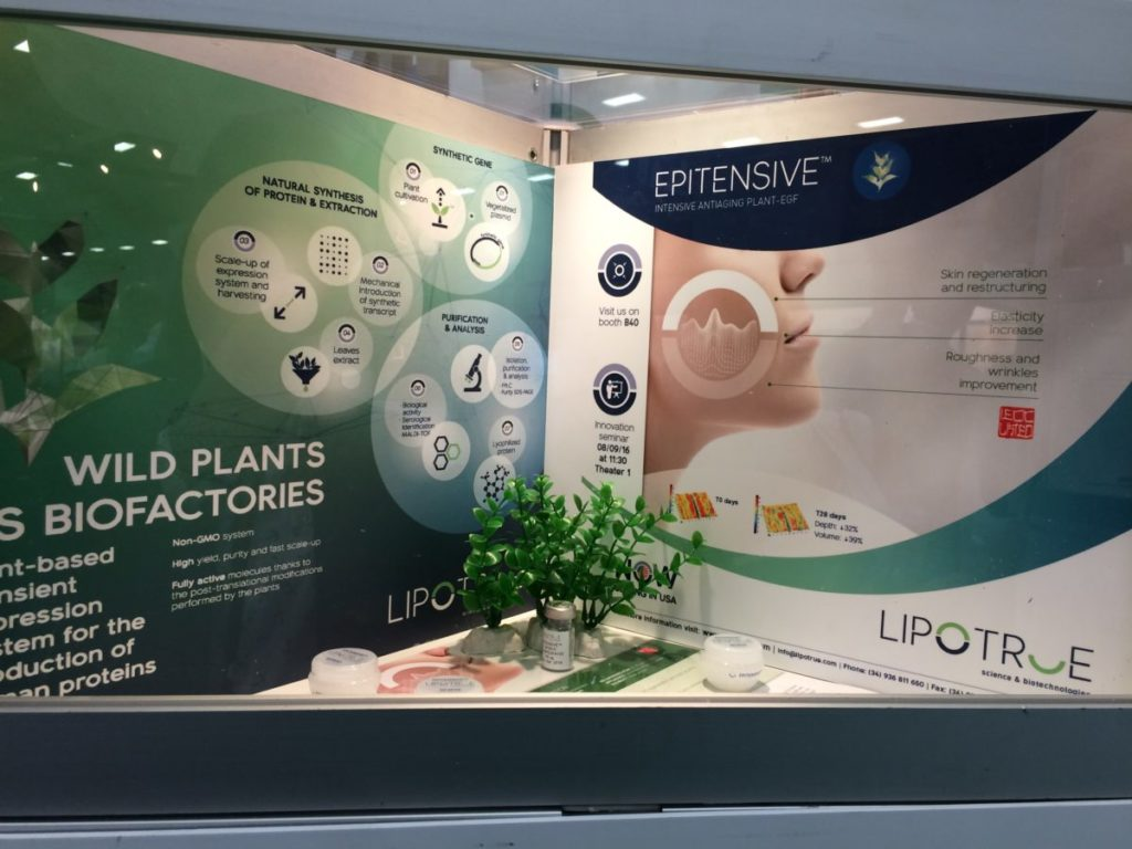 LipoTrue at in-cosmetics North America